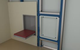 "Seats ""Kompakt"" for drywall constructions"